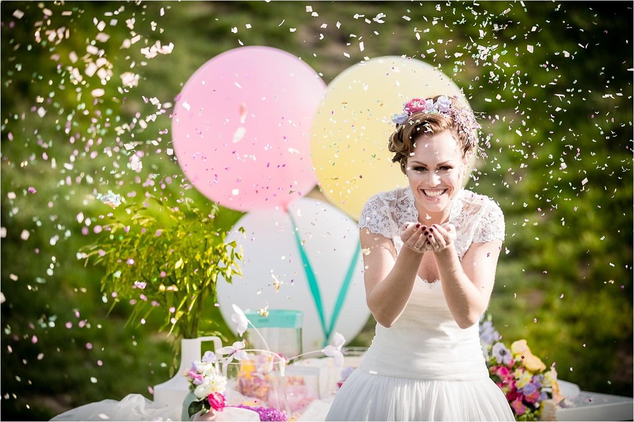 grote ballonnen bruiloft