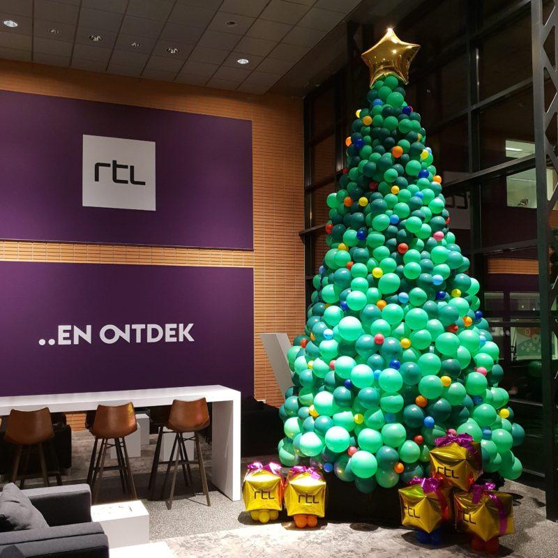 Kerstboom ballonnen