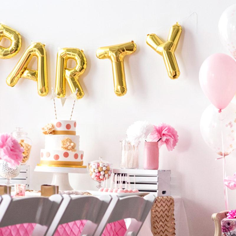 Feest ballonnen verjaardag